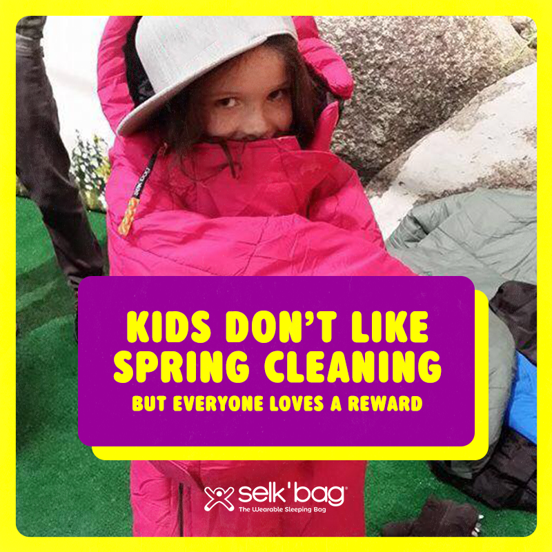 Kids Don't Like Spring Cleaning, But Everyone Loves a Reward
