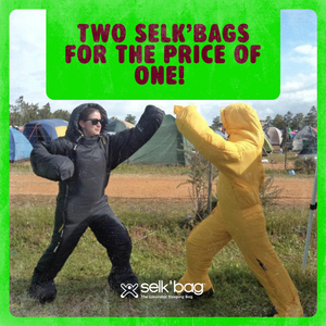 Two Selk'bags for the Price of One!