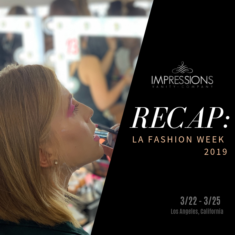 Impressions Vanity X LAFW 2019 Backstage Highlights
