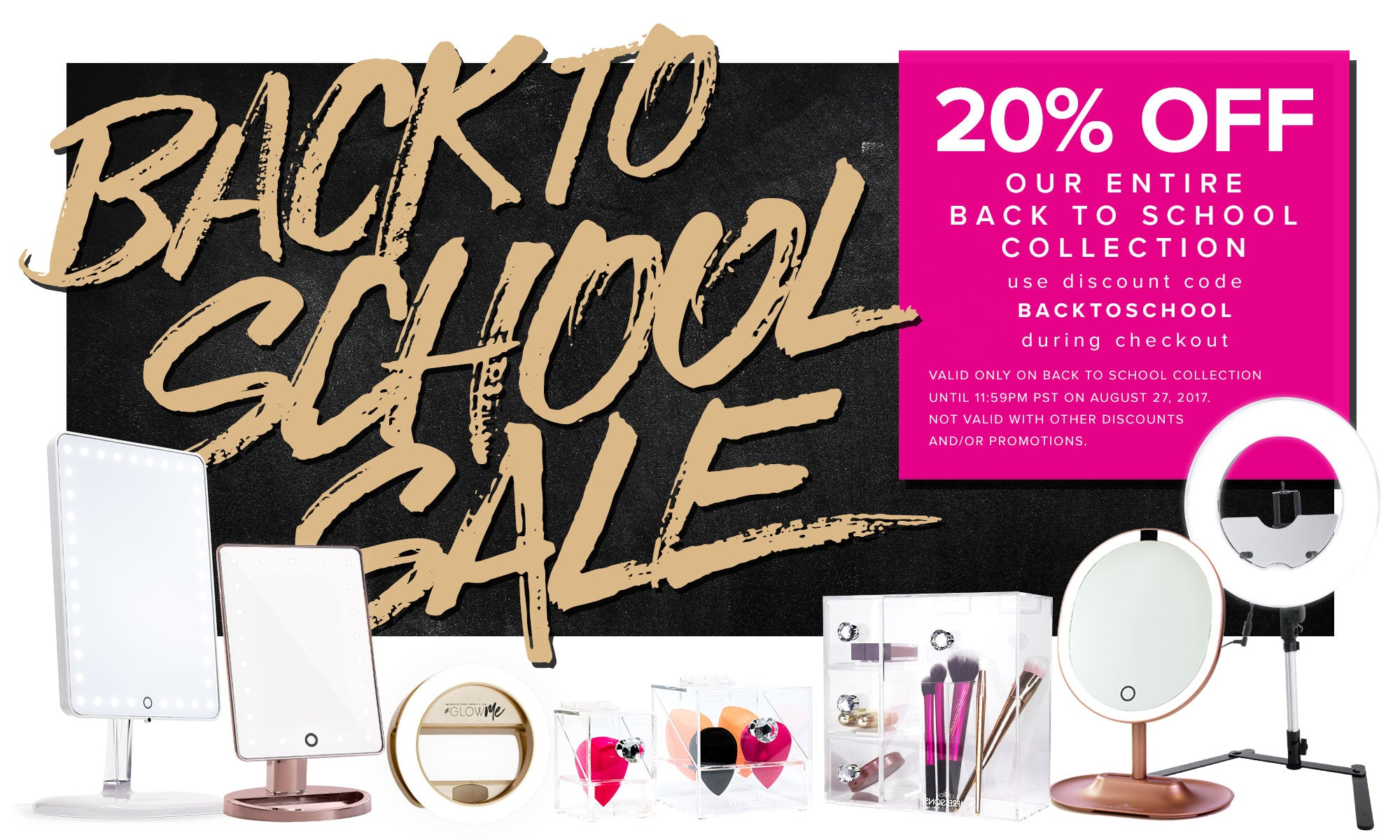 Impressions Vanity Back to School Sale