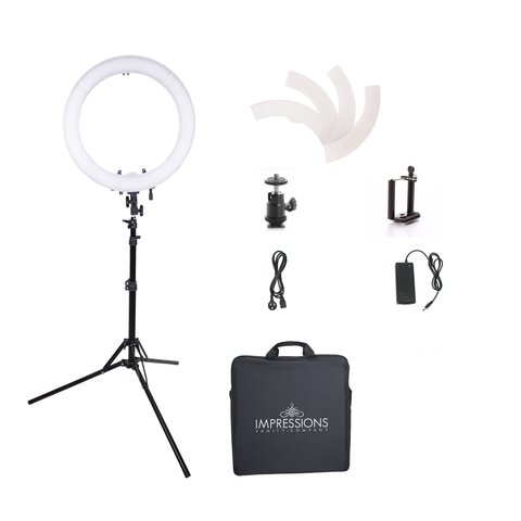 18'' Bi-Color LED Studio Ring Light