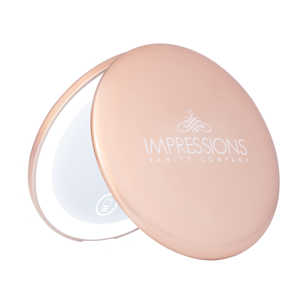 Touch Mini Pearl Compact Mirror