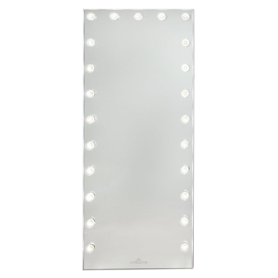 Hollywood Glow 174 Fl Vanity Floor Mirror Impressions