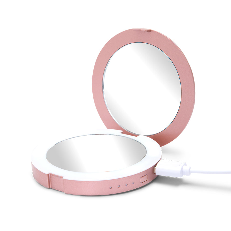 Impressions Vanity Co Chargeup Led Compact Mirror Amp Usb