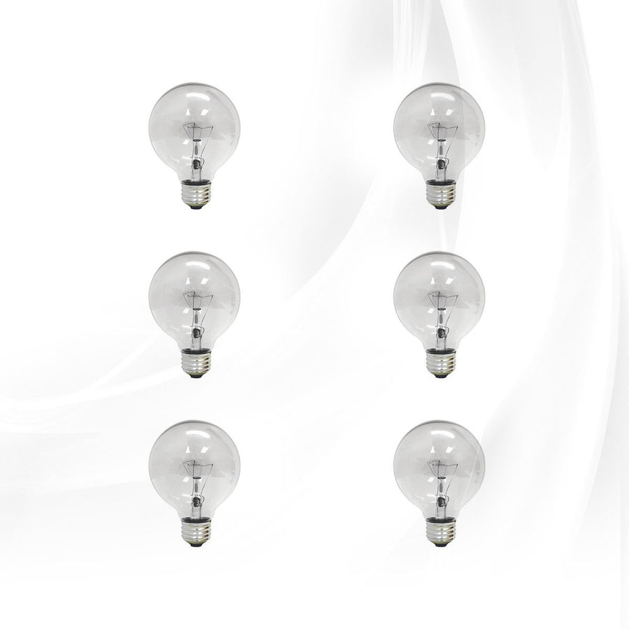 Vanity bulbs and accessories impressions vanity co bulbs clear g25 6 pack mozeypictures Images