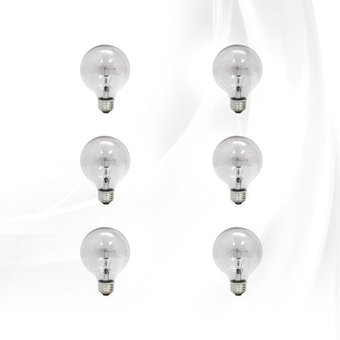 Bulbs-Clear-G25-6-Pack