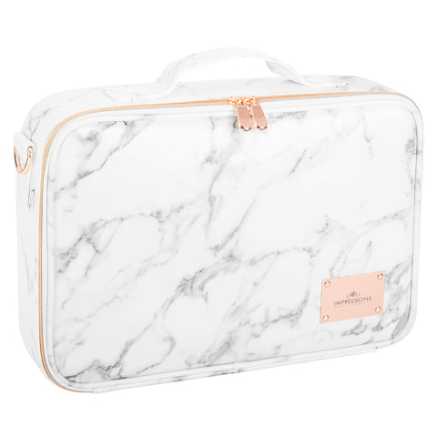 C'est La Vie Makeup Carry Case with Adjustable Dividers