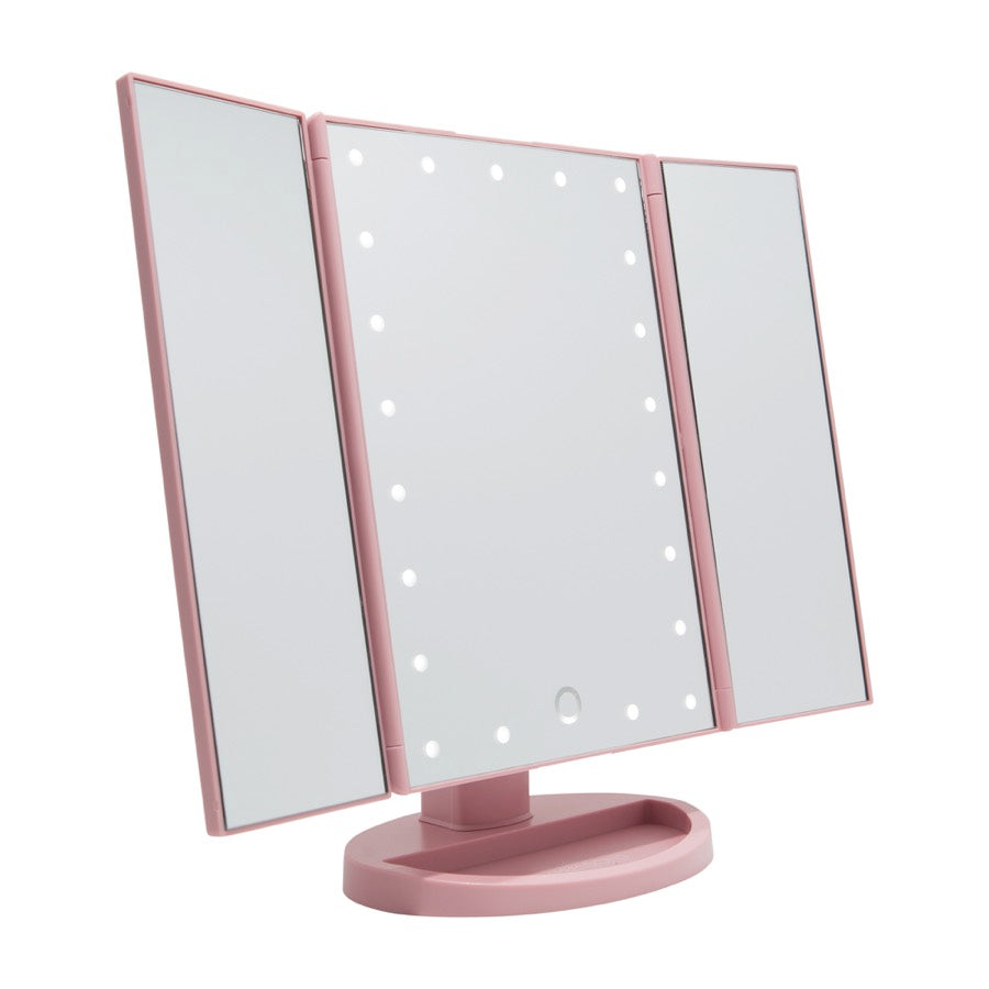 Impressions Vanity Co Touch Trifold Dimmable Led Makeup