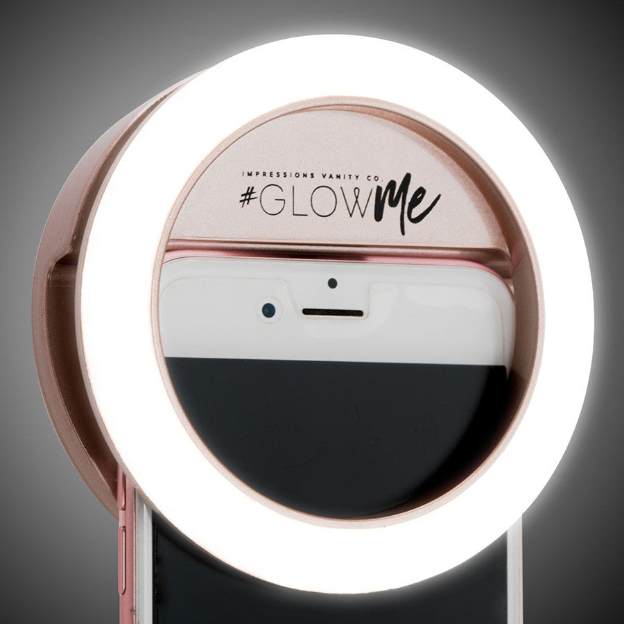 Impressions Vanityu00ae GlowMeu2122 2.0 LED Selfie Ring Light for Mobile Devices