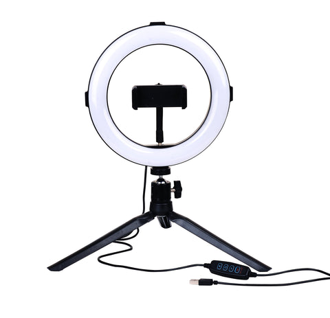 8'' Tri-tone LED Desktop Ring Light