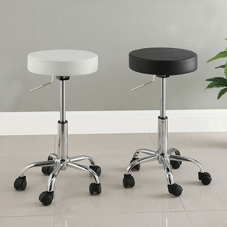 Surprising Swivel Vanity Stool With Adjustable Height Impressions Short Links Chair Design For Home Short Linksinfo