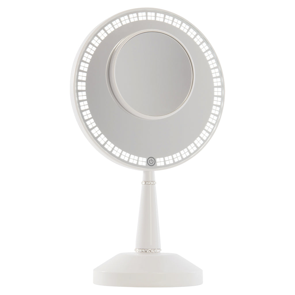 Bijou LED Hand Mirror with Charging Stand