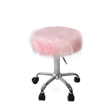 Momo faux fur stool