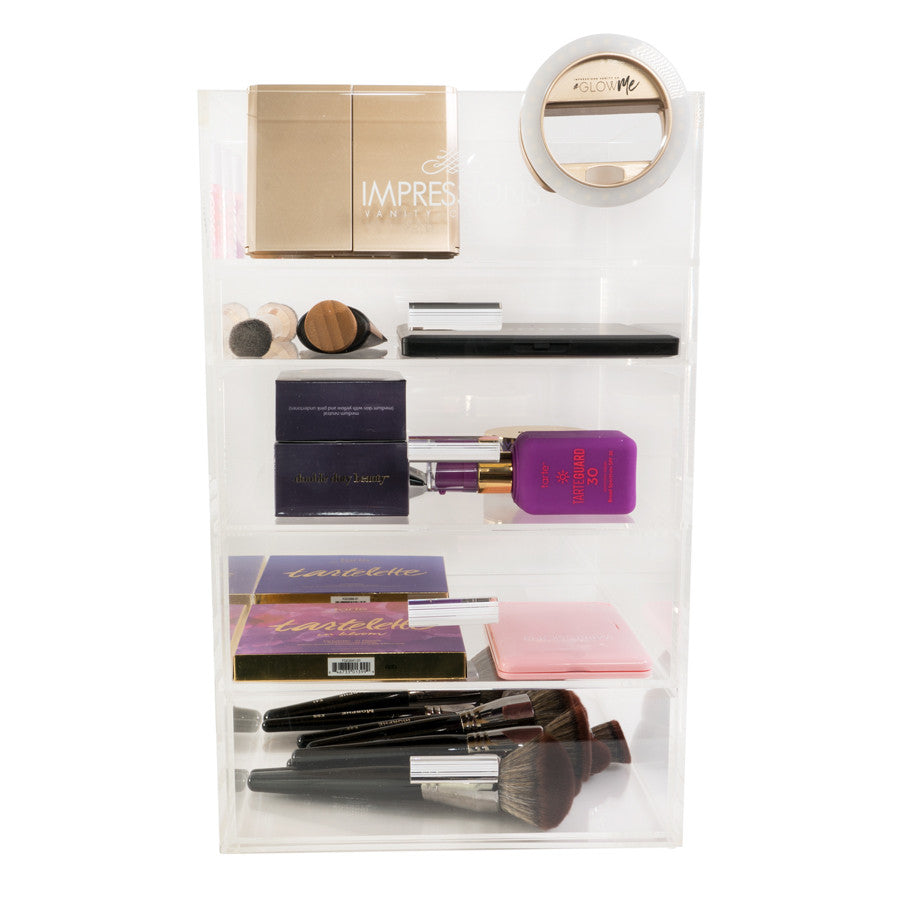 Impressions Vanity Co Impressions Vanity Tier Acrylic Makeup - Acrylic makeup organizer