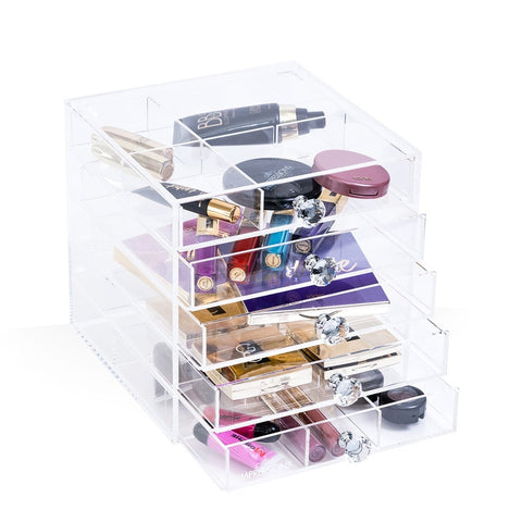 Impressions Vanity Diamond Collection Acrylic Petite Makeup Cube