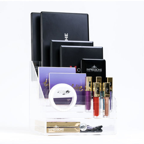 Diamond Collection Acrylic Makeup Palette Organizer