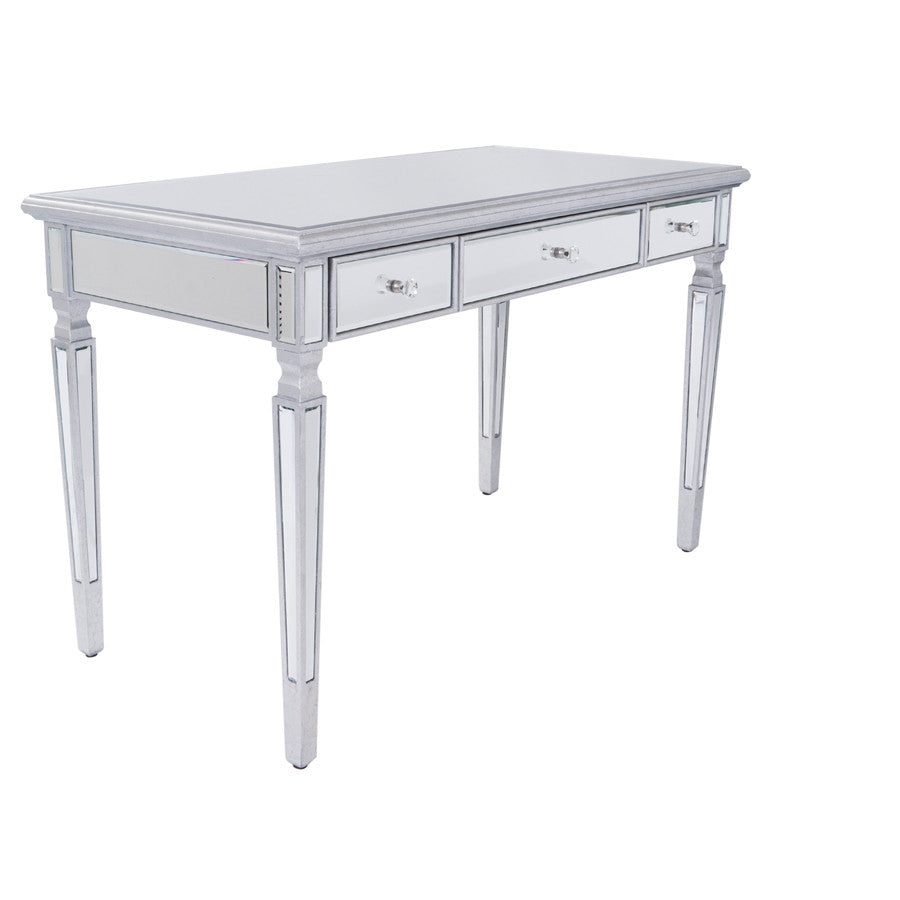 Anna Mirrored Vanity Desk