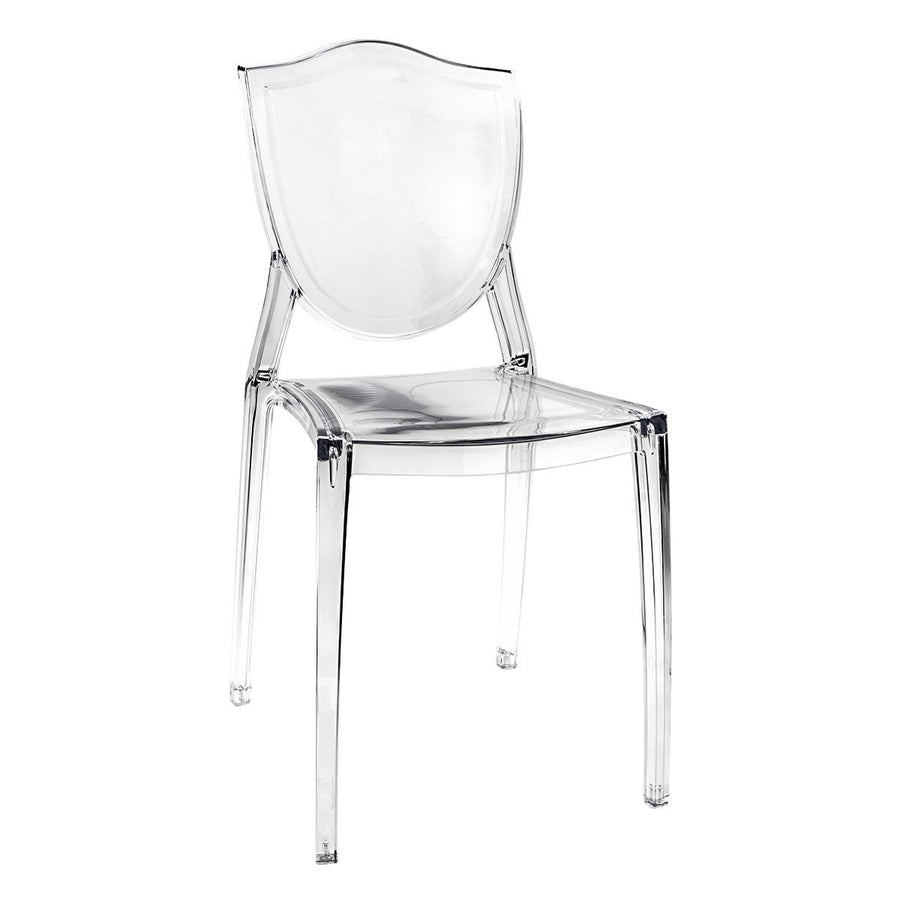vanity chair. Cristal Cresta Ghost Style Vanity Chair Impressions Co