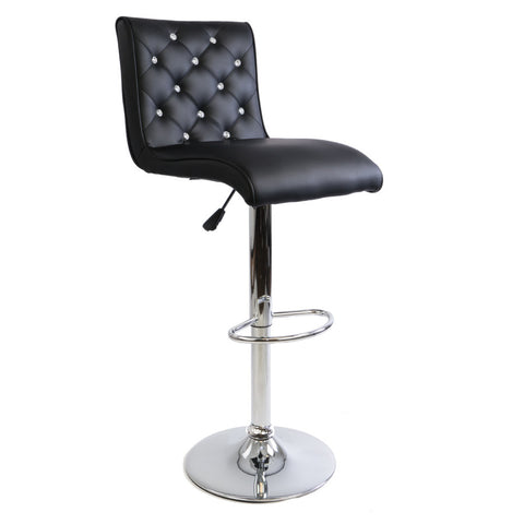 Black Diamond Armless Barstool