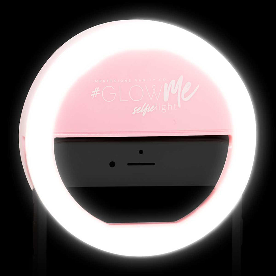 Impressions Vanity GlowMe LED Selfie Ring Light for Mobile Devices