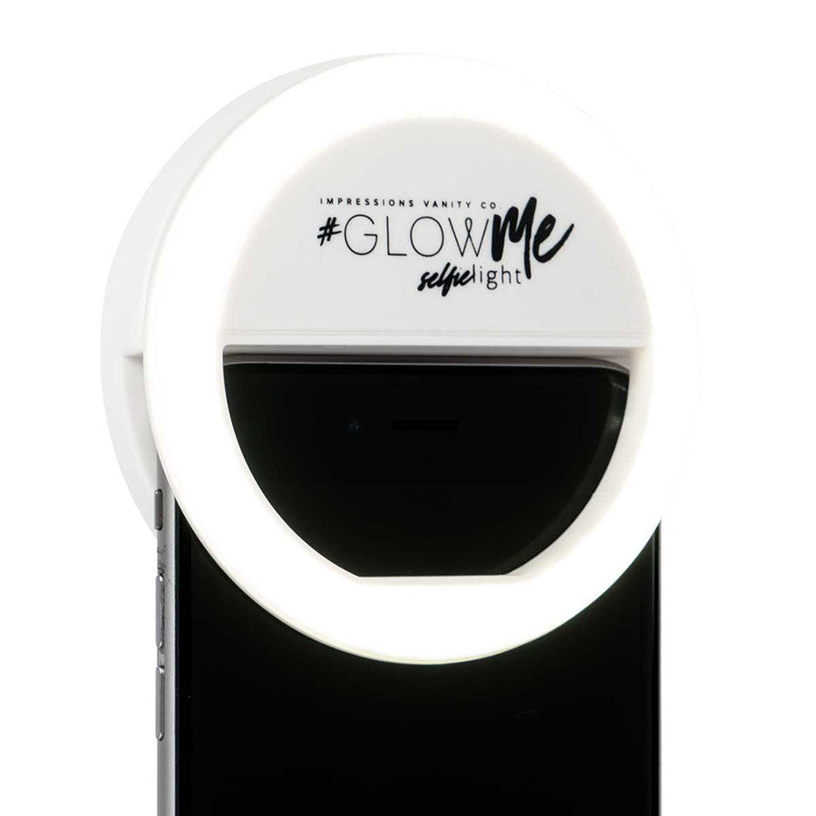 Impressions Vanity GlowMe LED Selfie Ring Light in White