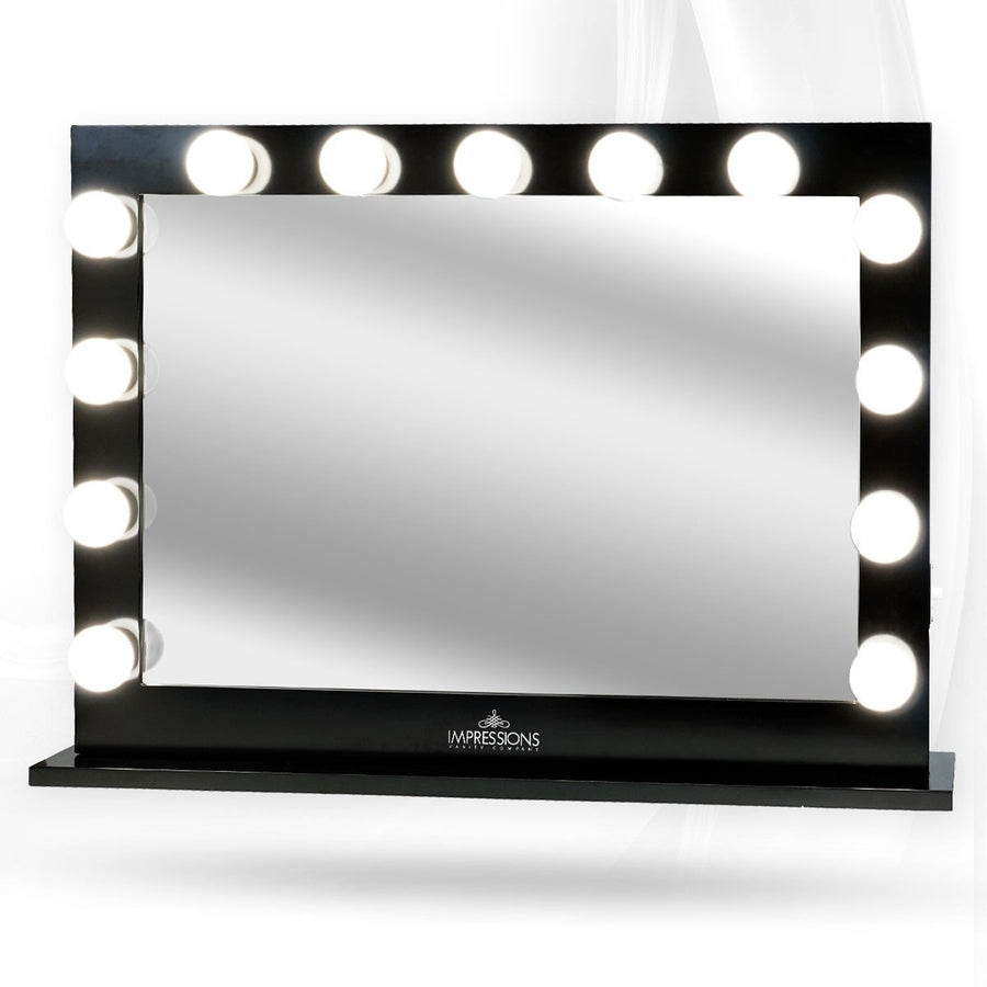 impressions vanity hollywood studio pro vanity mirror. Black Bedroom Furniture Sets. Home Design Ideas
