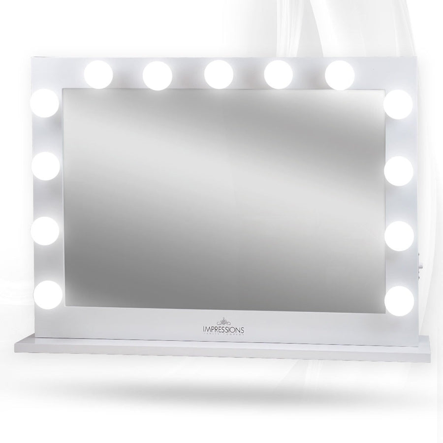 Impressions Vanity Hollywood Studio Pro Lighted Vanity Mirror White Lit