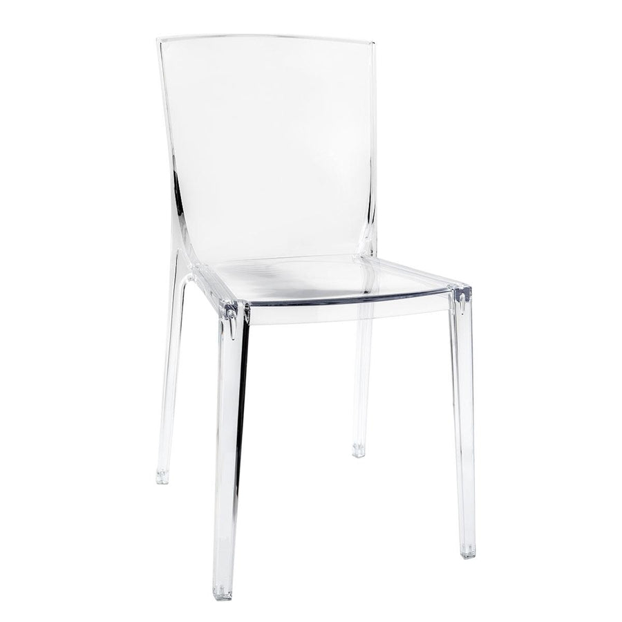 Impressions Vanity Piazza Cristal Chair Clear