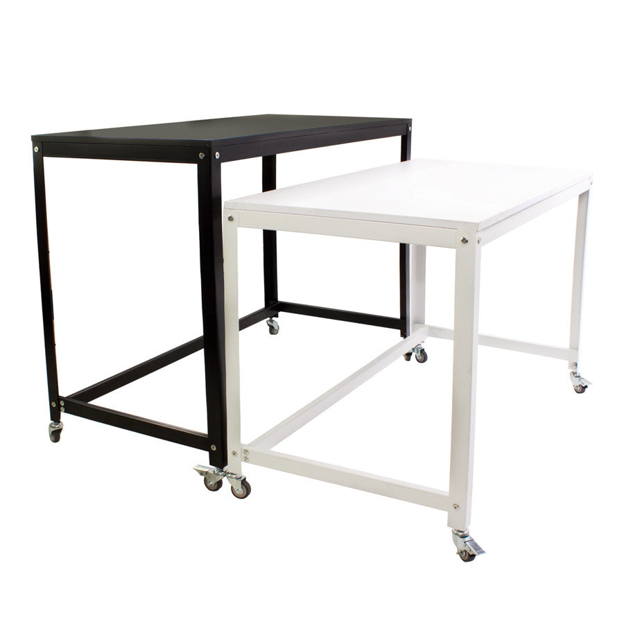 Vanity Tables Product : Wanderlust pro mobile vanity station desk height