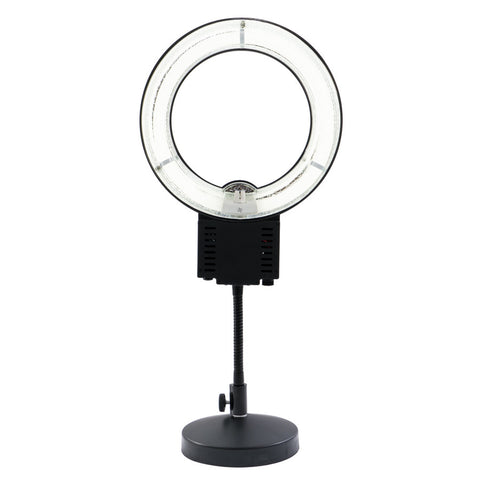 Black Vanity Circle Ring Light