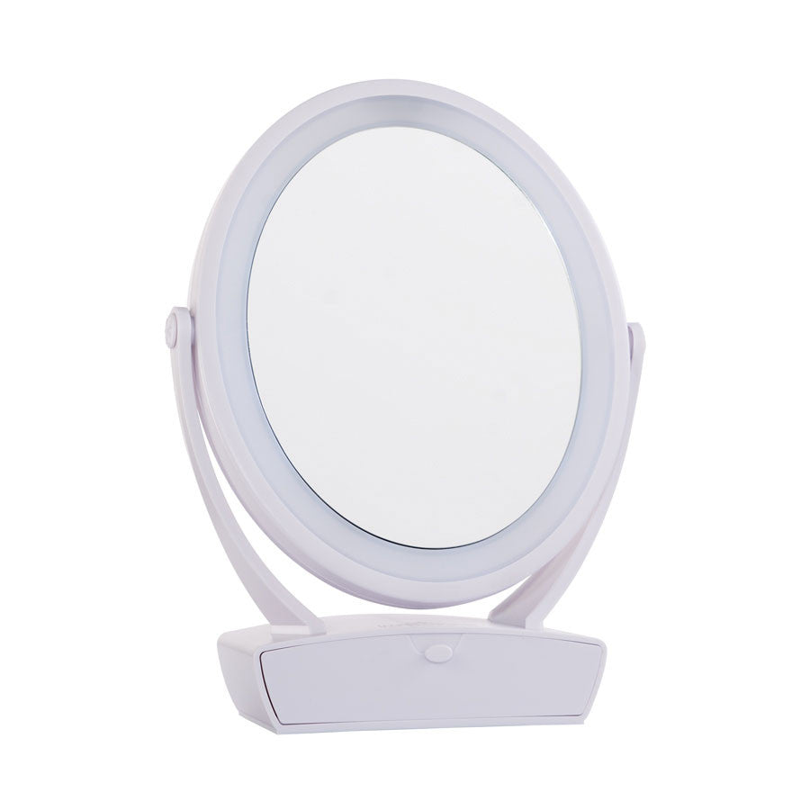 Impressions-Vanity-Touch-Blue-Flip-LED-Mirror-White-01