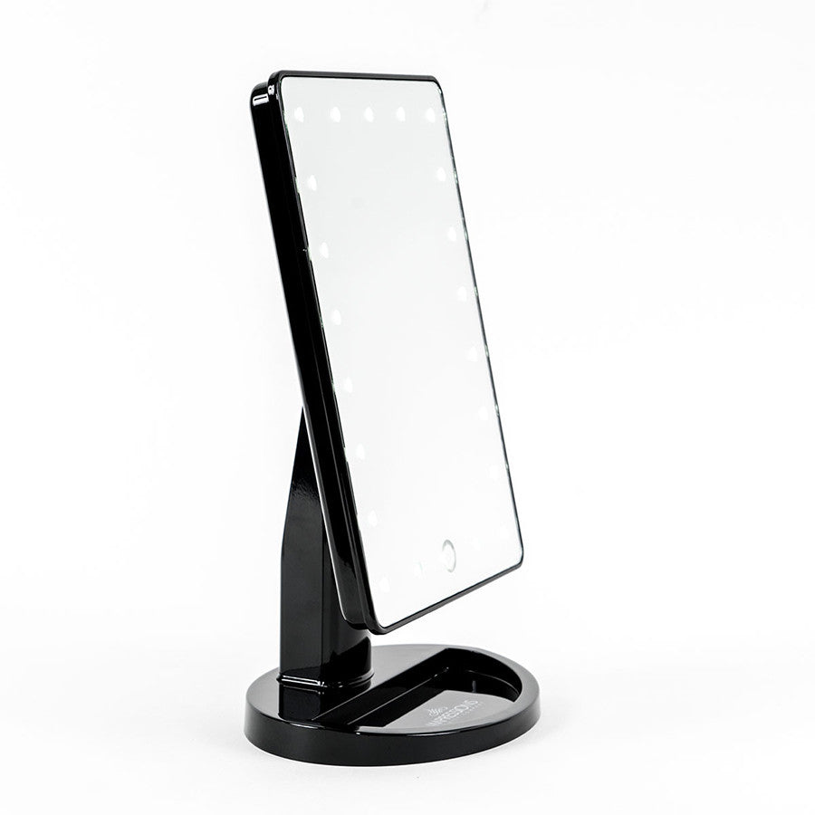 Impressions Vanity Touch  Dimmable LED Makeup Mirror In Matte - Mirror on a stand vanity