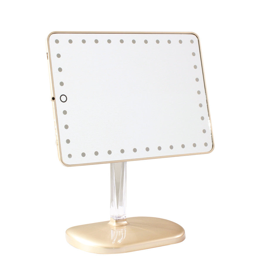 Impressions Vanity Touch Pro LED Makeup Mirror With Speakers - Mirror on a stand vanity