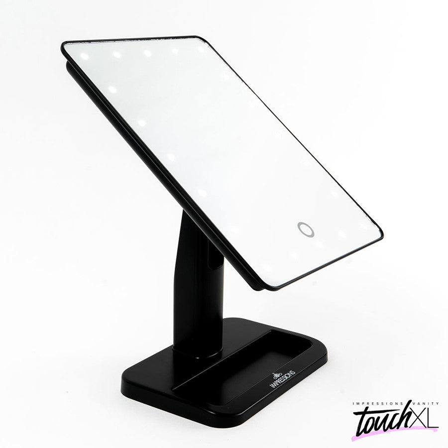 Makeup Mirrors  Impressions Vanity Co - Mirror on a stand vanity