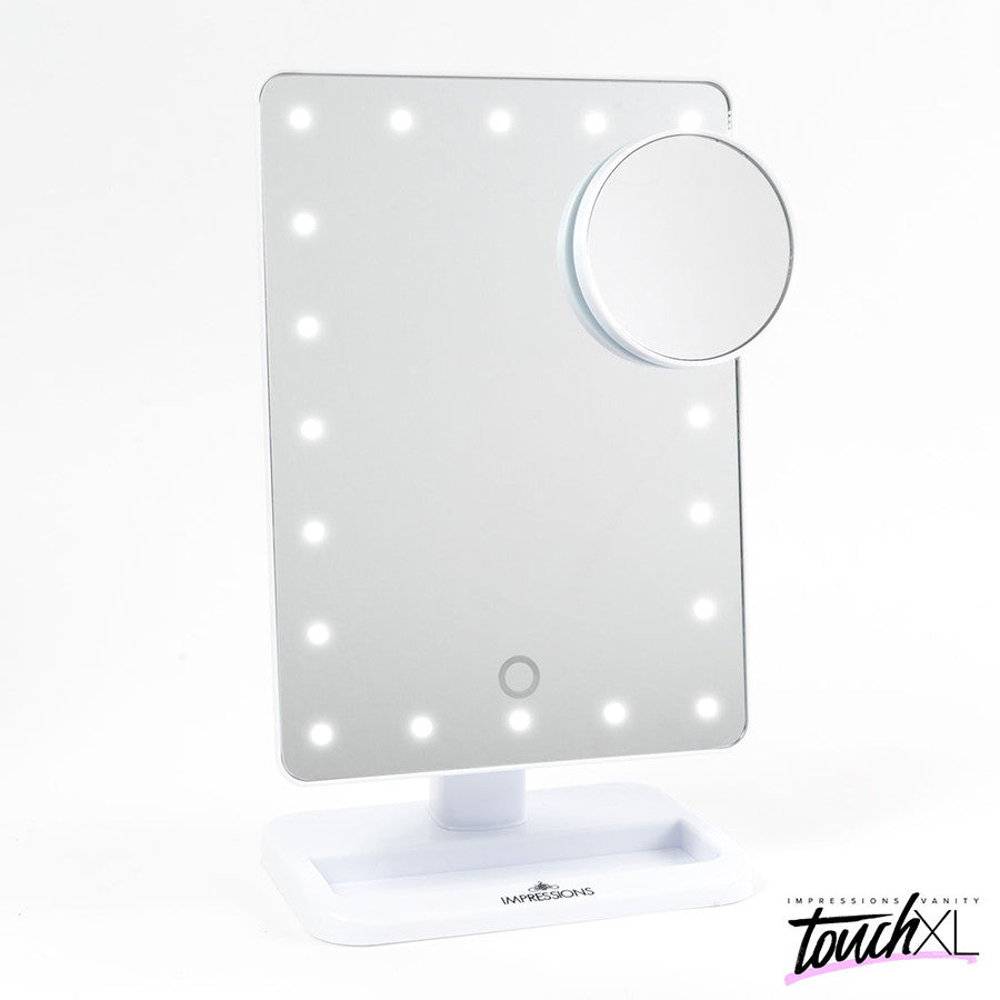Touch XL Dimmable LED Mirror White