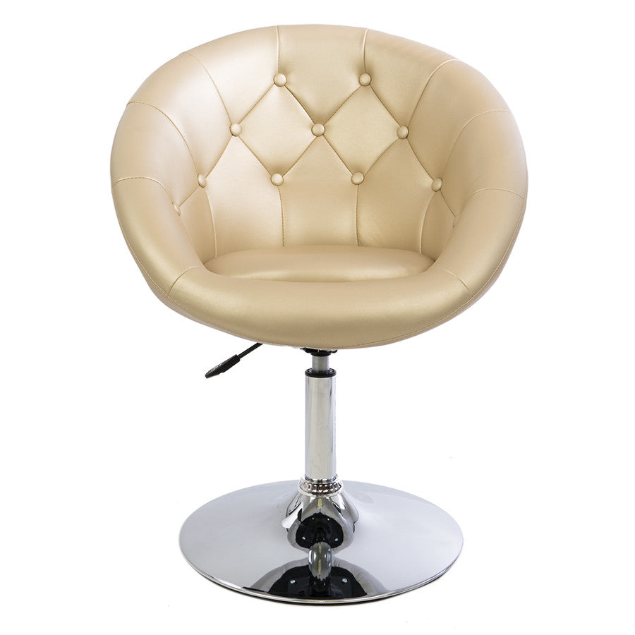 Antoinette Round Tufted Vanity Chair Impressions Vanity Co
