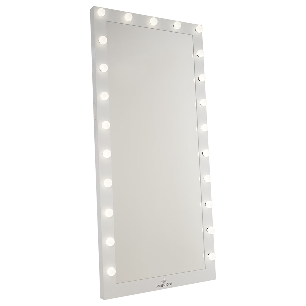 Hollywood Iconic® Full-Length Vanity Floor Mirror ...