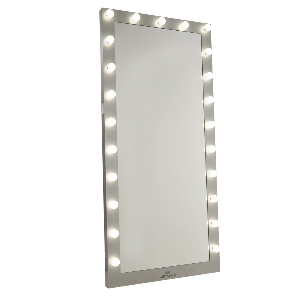Hollywood Iconic Full Length Vanity Floor Mirror Impressions Vanity Co