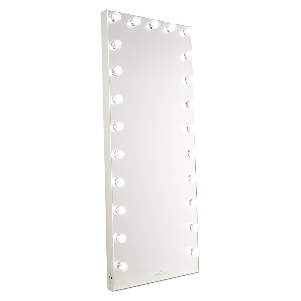 Hollywood Glow® FL Vanity Floor Mirror
