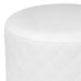 Olivia Quilted Vanity Ottoman