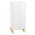 SlayStation® Skylar 6-Drawers Vanity Storage Unit