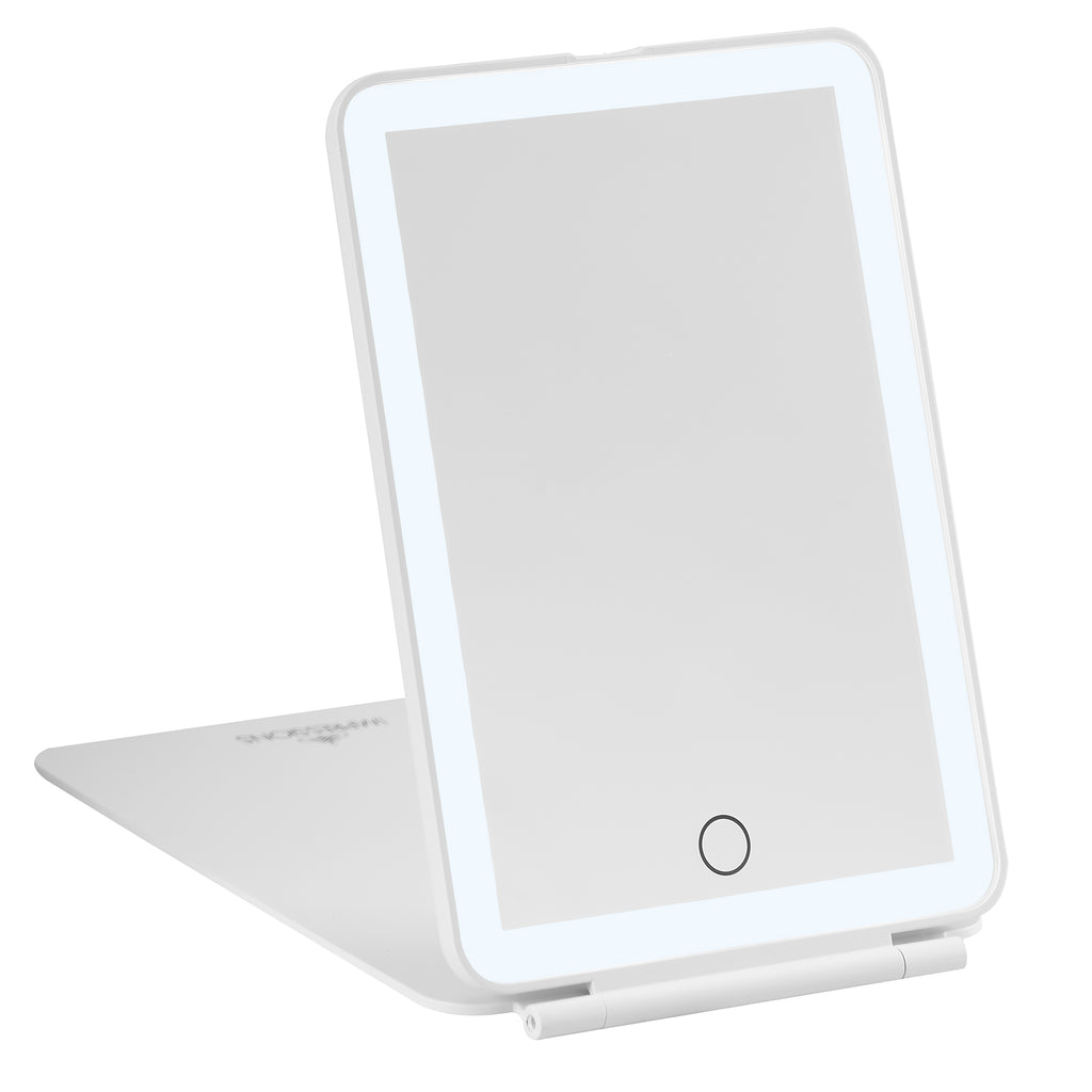 Touch Pad Mini Tri-Tone LED Makeup Mirror