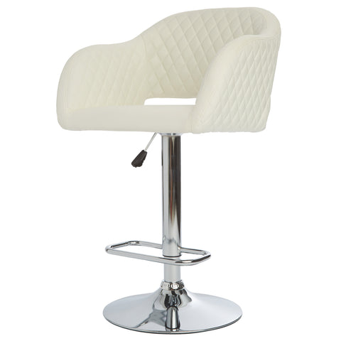 Kimberly Quilted Vanity Stool
