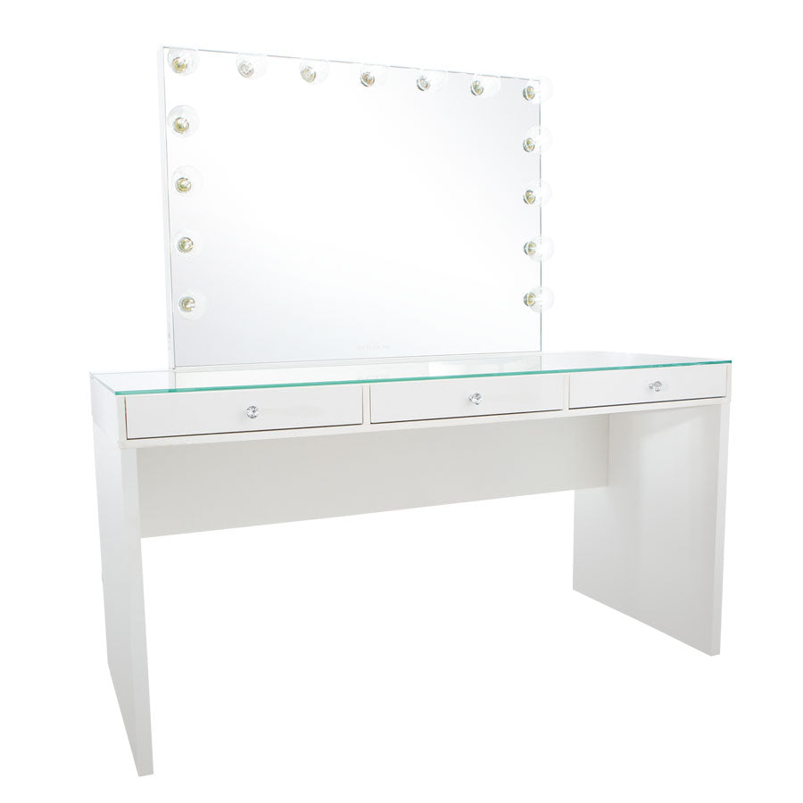 Slaystation 174 Pro 2 0 Table Glow Pro Vanity Mirror Bundle