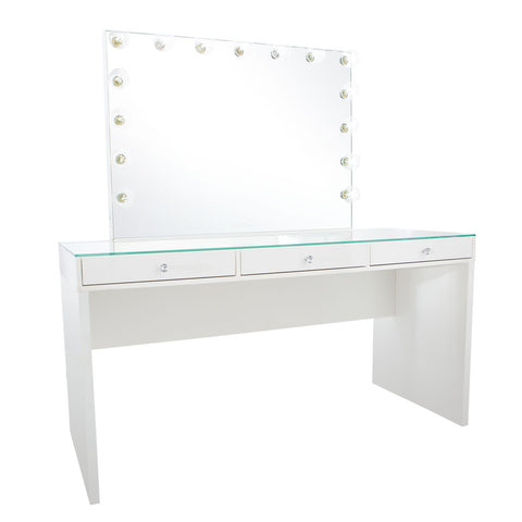 white and gold vanity table. SlayStation Pro 2 0  Glow Vanity Table Bundle Impressions Co Shop Tables
