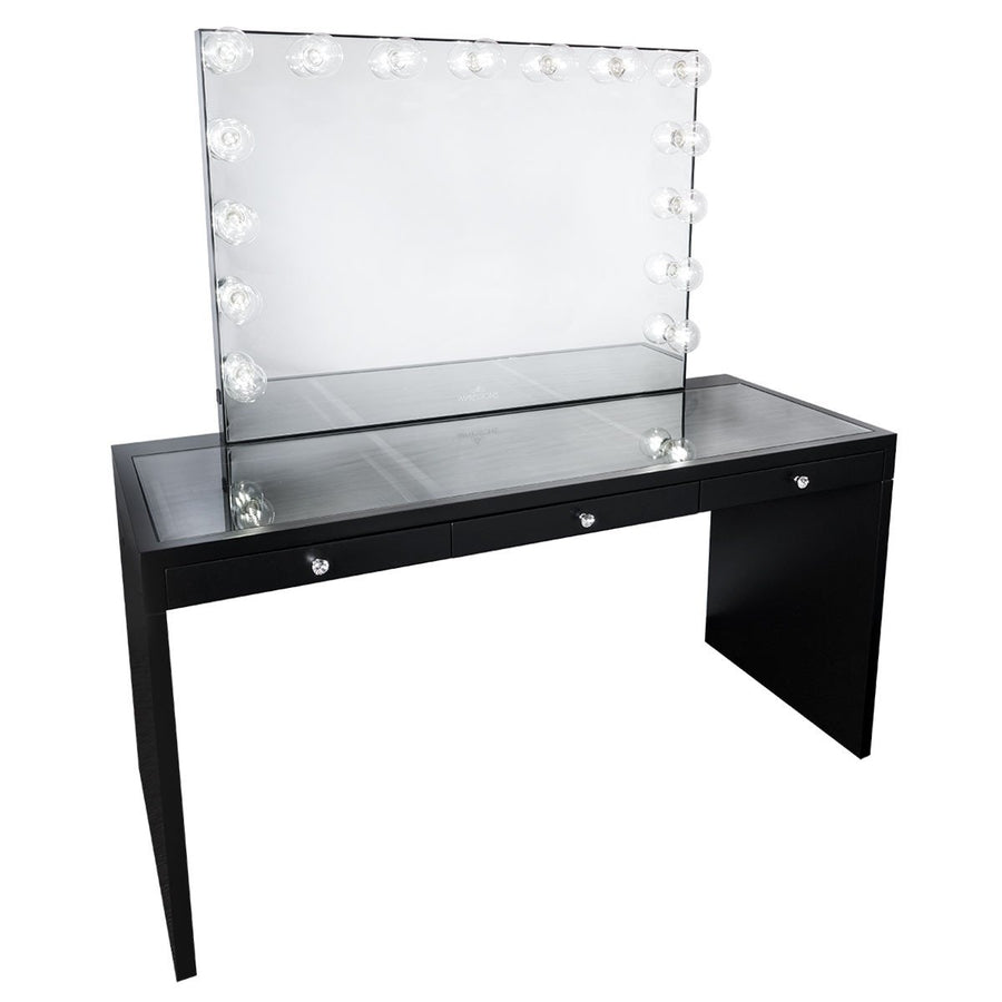 Slaystation 174 Pro Premium Table Vanity Mirror Bundle