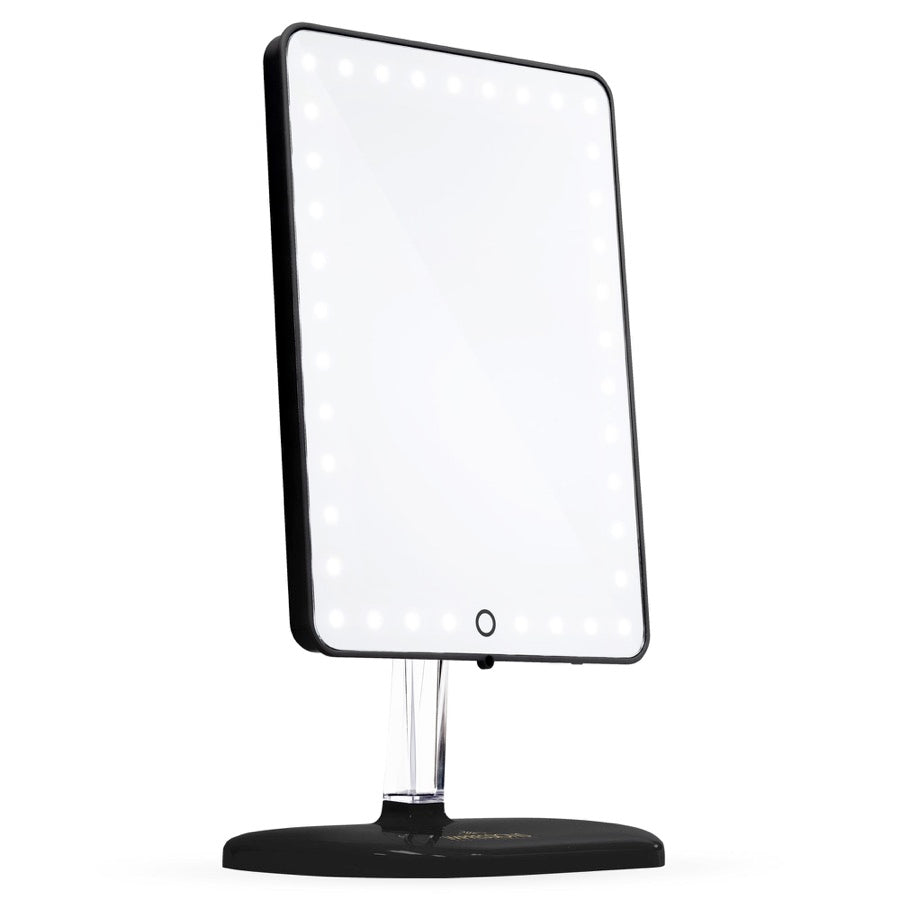Touch Pro LED Makeup Mirror with Bluetooth Audio+Speakerphone & USB Charger