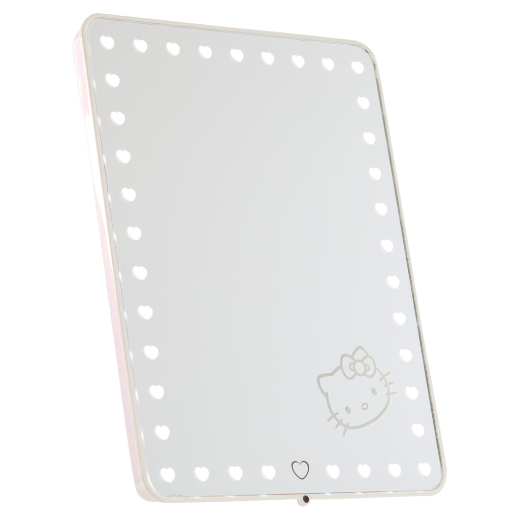 2bf69e0f0 ... Hello Kitty Edition Touch Pro LED Makeup Mirror with Bluetooth  Audio+Speakerphone & USB Charger ...