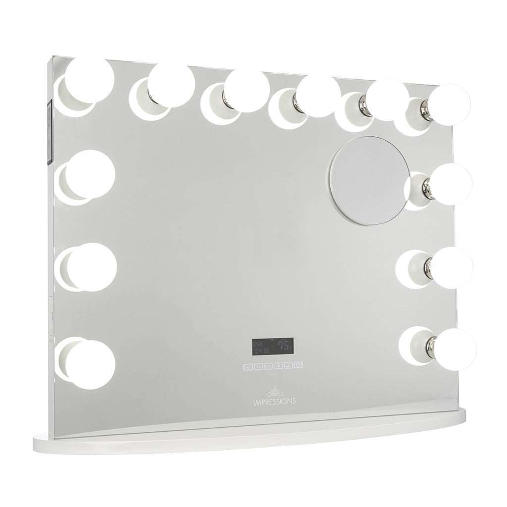 Hollywood Premiere Plus Vanity Mirror with Bluetooth Speakers