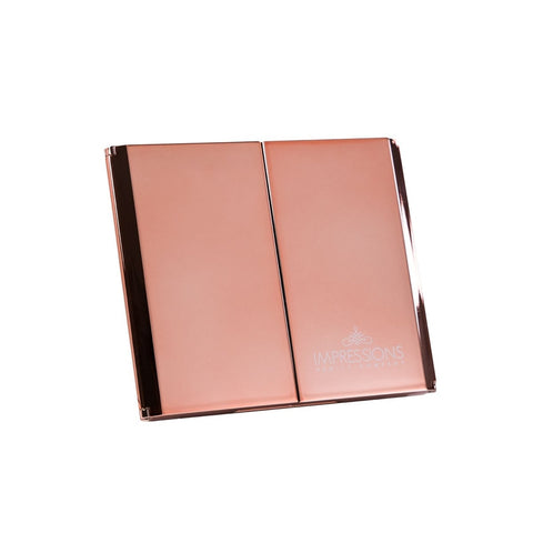 ReveaLight Trifold Compact Mirror with Flip Stand